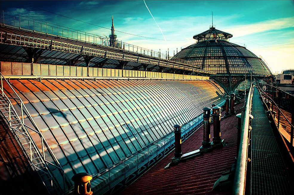 Galleria Vittorio Emanuele Milano Walkways - Что посмотреть в Милане. Неделя 6