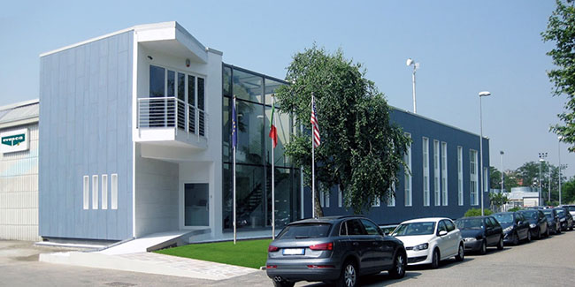 Проект офисного здания в зоне Rho.