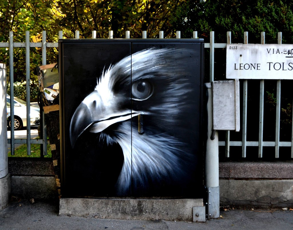 Граффити от Cheone в Милане ©energybox2015