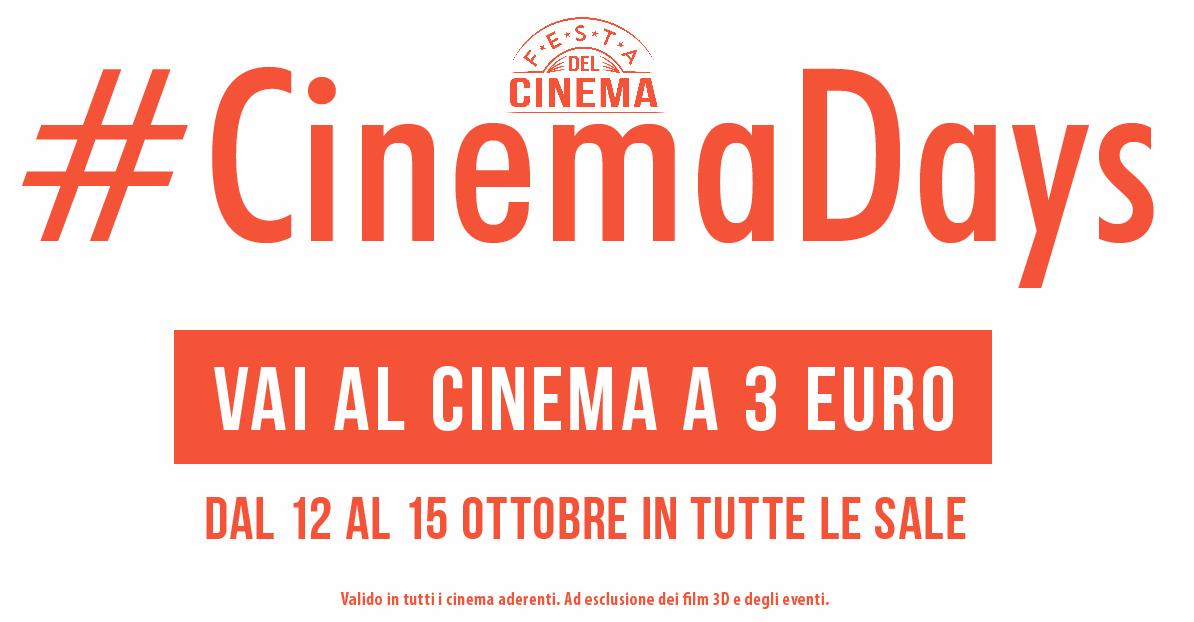cinema days sito - Что посмотреть в Милане. Неделя 42