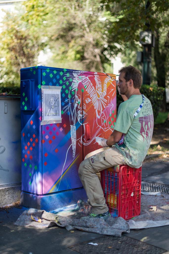 """Mambo """"граффити"""" в Милане ©energybox2015"""