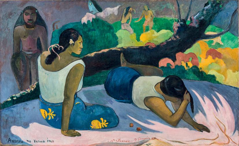 gauguin donne sdraiate - Что посмотреть в Милане. Неделя 45