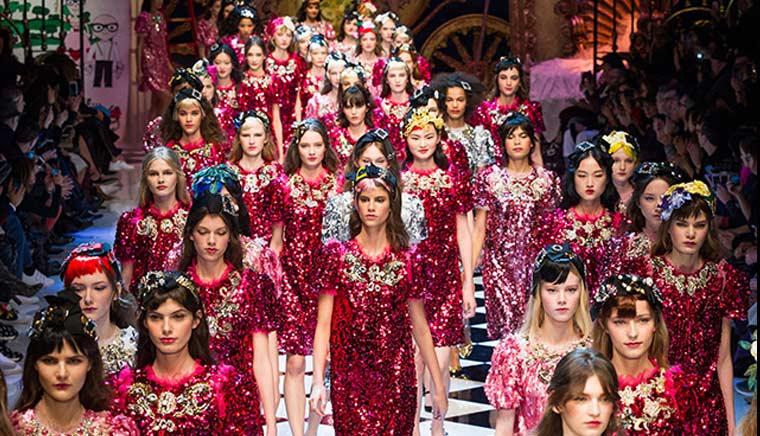 Лучшие показы женской недели моды в Милане осень-зима 2016-17