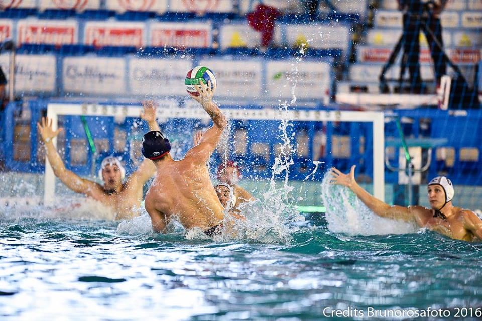 первый полуфинал Кубок Италии по водному поло среди мужчин