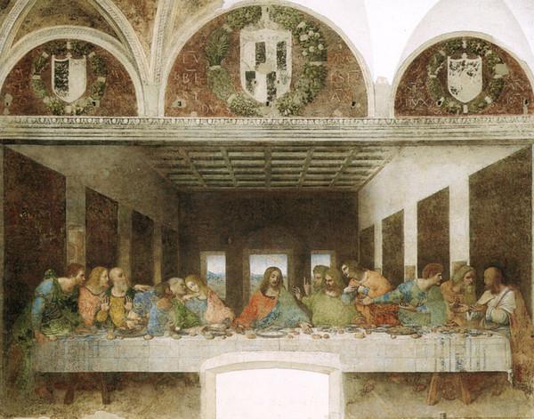 Новые места Милан фреска Леонардо да Винчи
