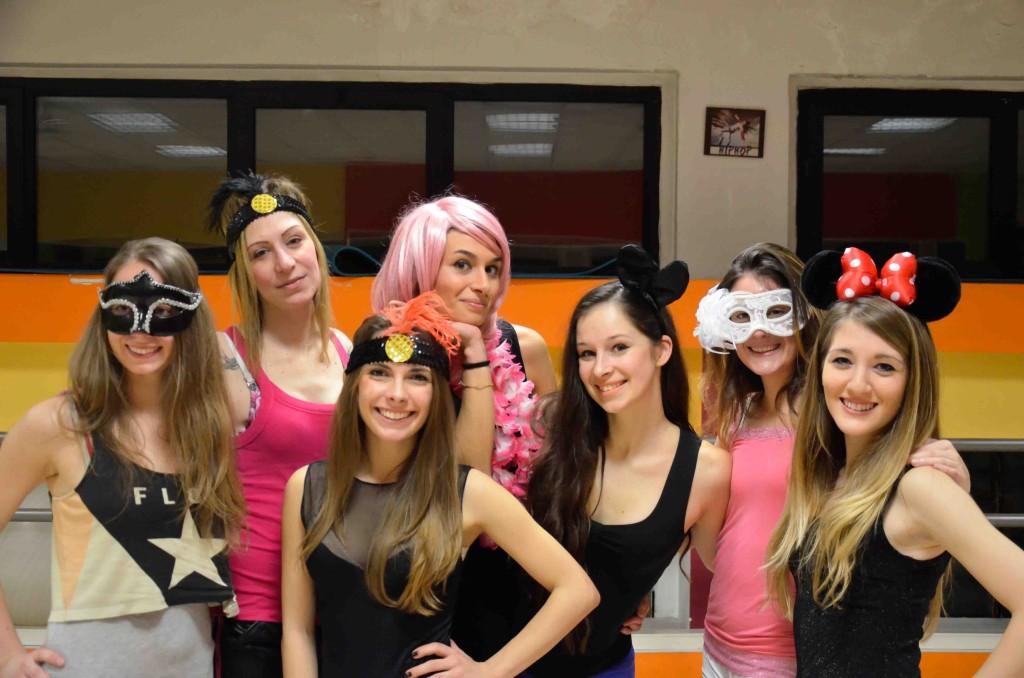 All Star Milano Cheerleaders девушки