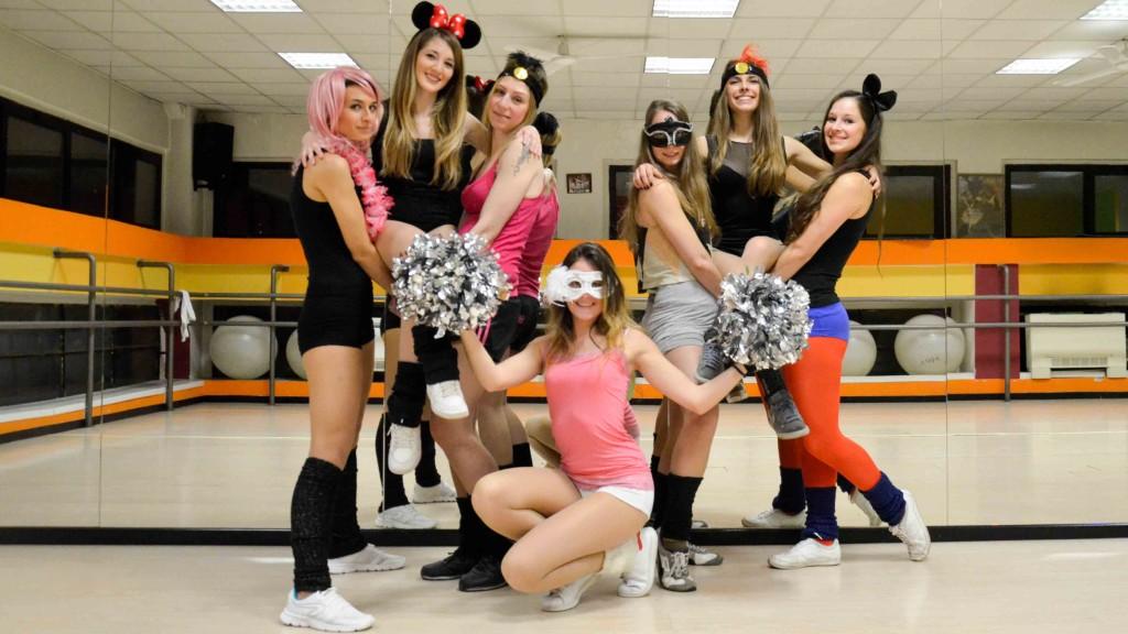 All Star Milano Cheerleaders тренировки
