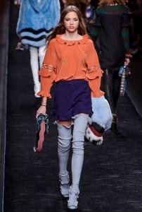 показы женской недели моды