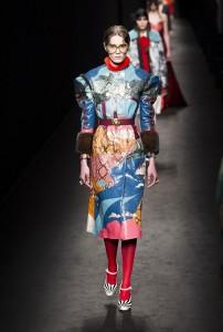 Gucci RF16 1115 202x300 - Лучшие показы женской недели моды в Милане осень-зима 2016-17