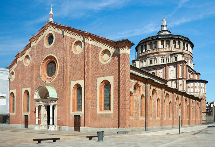 Новые места Милан базилика