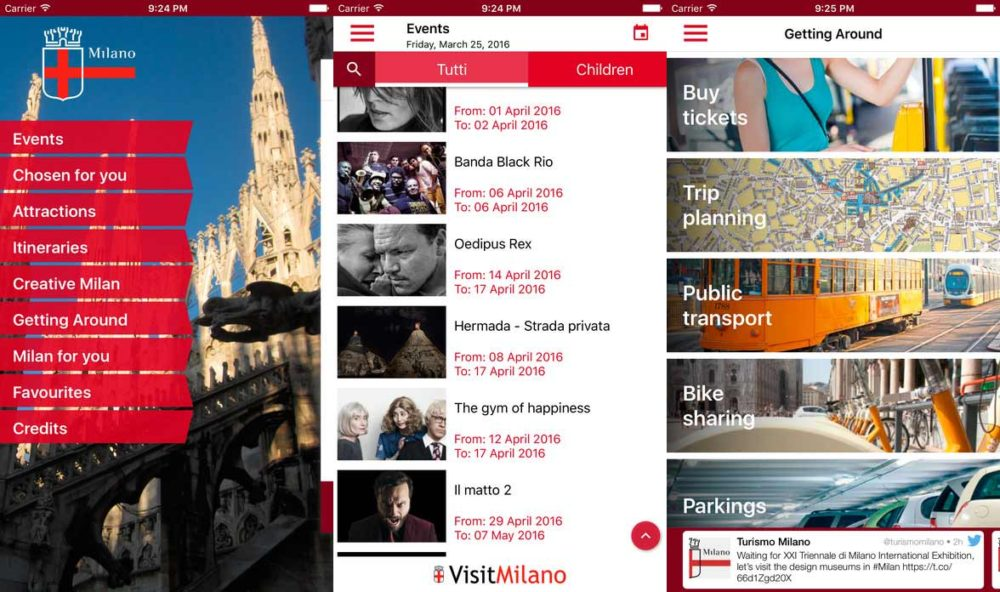 Discover and experience Milan with VisitMilano the City's official free app.