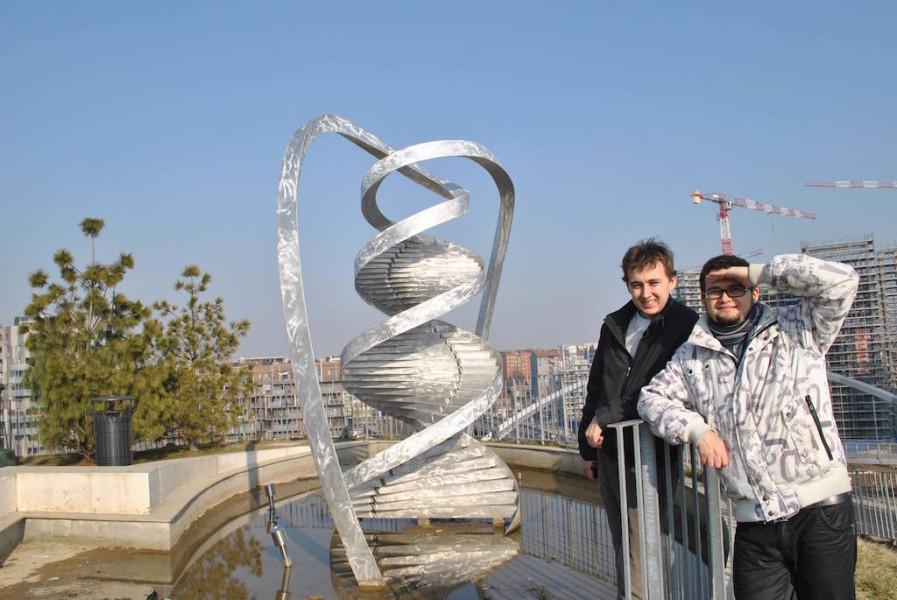 Григорий и Павел Бартовы, февраль 2013