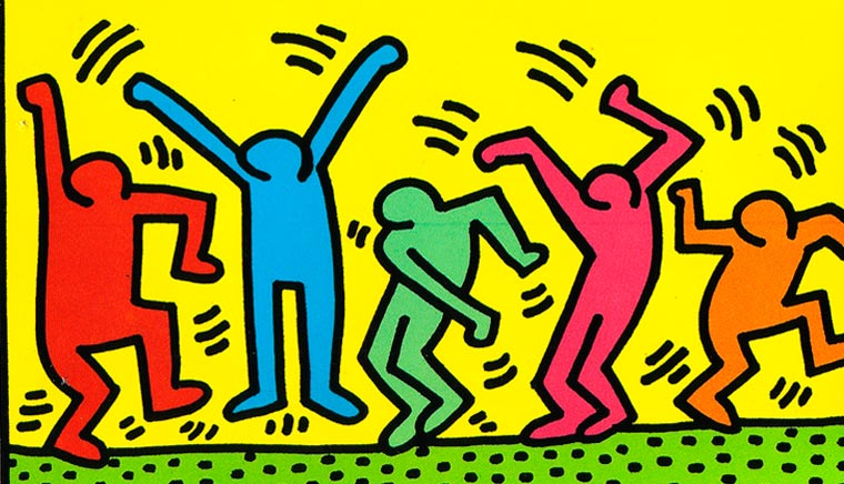 150 opere descrivono vita e arte di Keith Haring - Что посмотреть в Милане. Неделя 14
