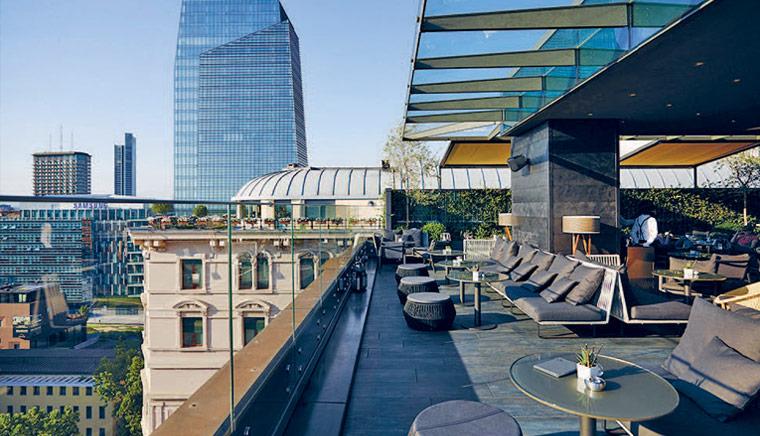Radio Rooftop Milan 2 - 11 самых красивых террас Милана
