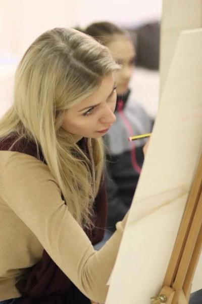 Занятия в ART SCHOOL