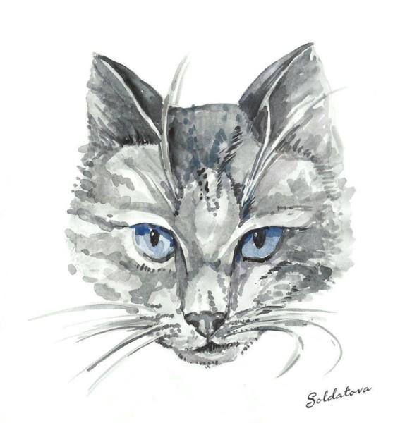 Рисунок. Мария Солдатова