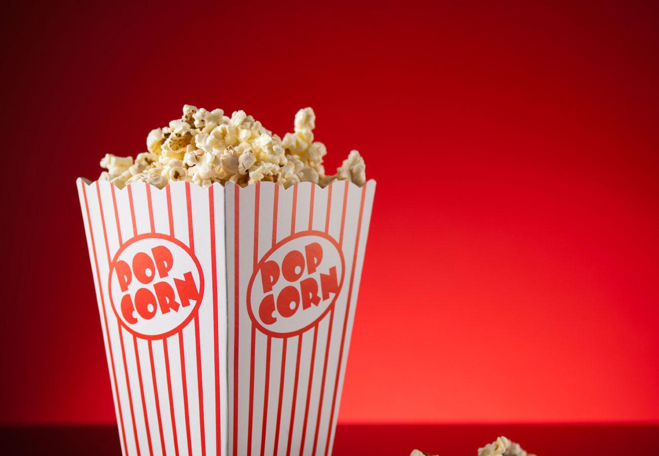 popcorn  - Свадьба и кино