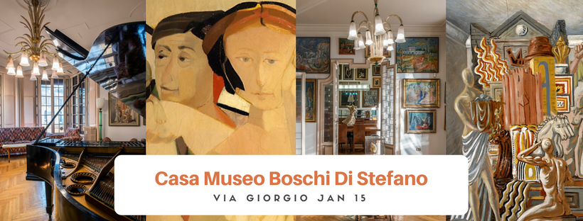 Casa Boschi Di Stefano бесплатная экскурсия