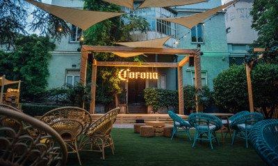 Casa Corona - летний апперетив в Милане