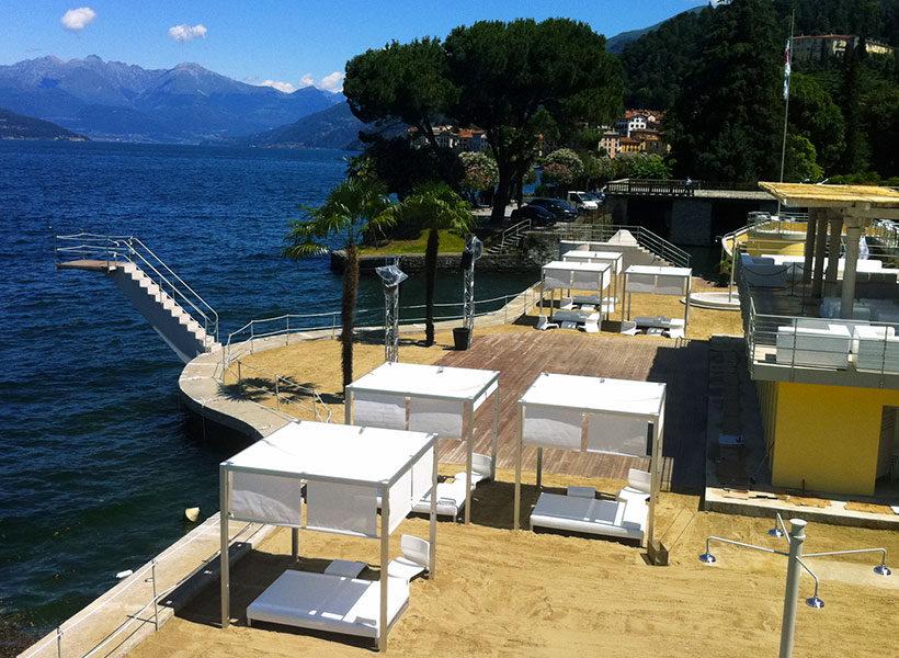 spiaggia Lido Bellagio 820x600 - Мохито и великолепный вид: пляжный отдых возле Милана