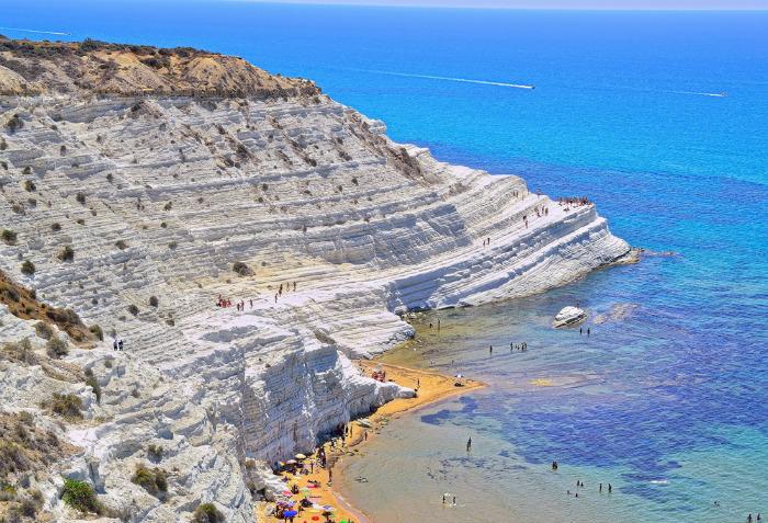 scala dei turchi - Самые красивые пляжи Италии