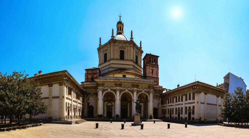 Сан Лоренцо Маджоре 1000x555 - 7 храмов и церквей Милана, в которые надо обязательно зайти