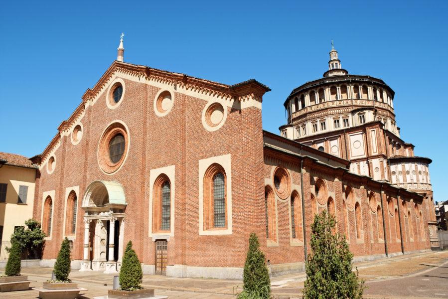 Санта Мария Делле Грацие 899x600 - 7 храмов и церквей Милана, в которые надо обязательно зайти