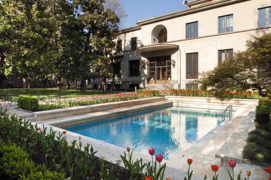 Villa Necchi Campiglio Foto di Giorgio Maj no2009 © FAI Fondo Ambiente Italiano 1 903x600 - 5 романтичных мест Милана