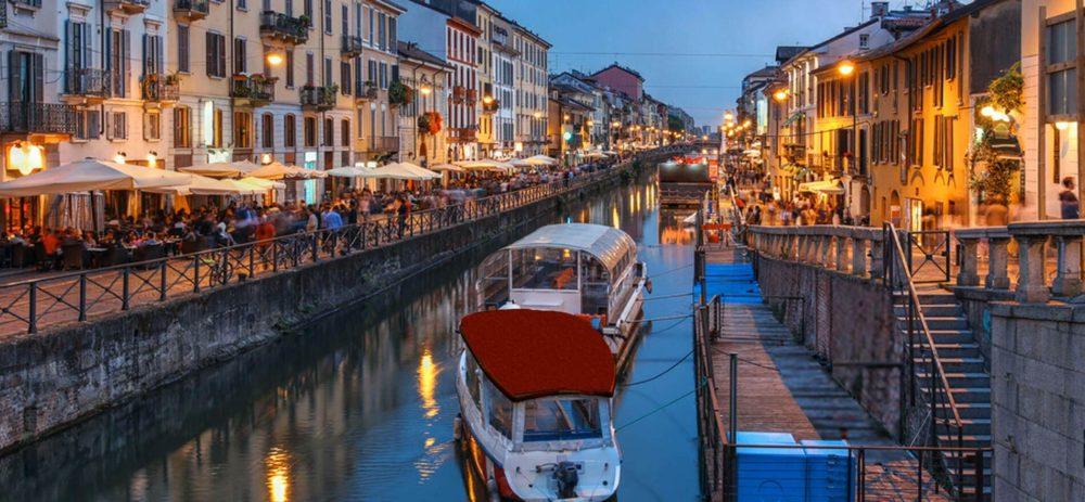 navigli folla 1000x463 - Милан за 2 дня: что посмотреть