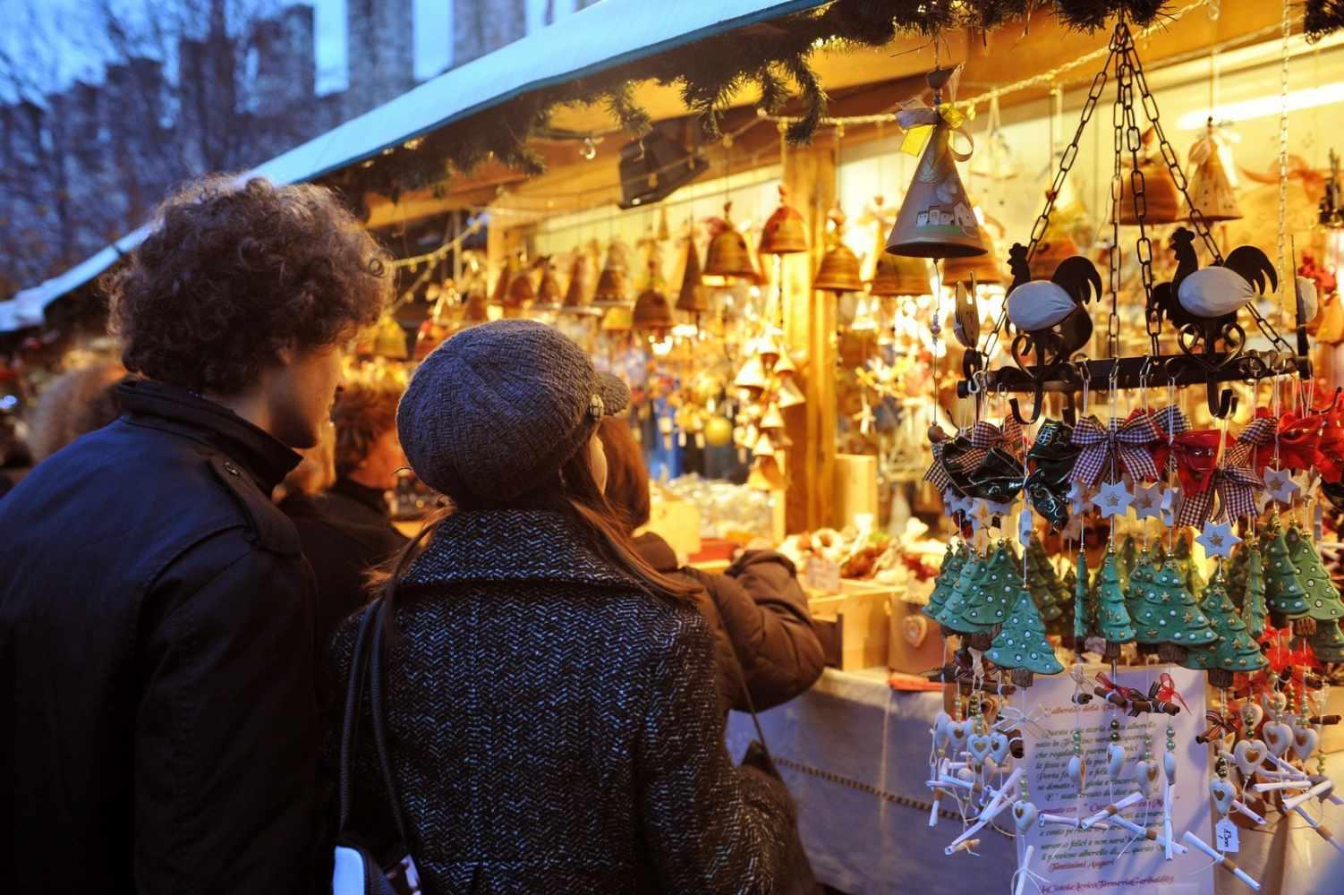 Casette Mercatino di Natale Trento foto M. Rensi - Mercatini di Natale: 7 рождественских рынков Милана